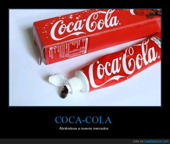 cocacola,pasta de dientes,wtf