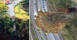 Enlace a Terremotos y corrimientos de tierra que cambiaron por completo su entorno