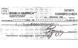 Enlace a Este no es un cheque cualquiera