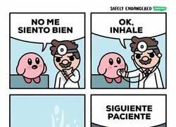 Enlace a Kirby visita al médico