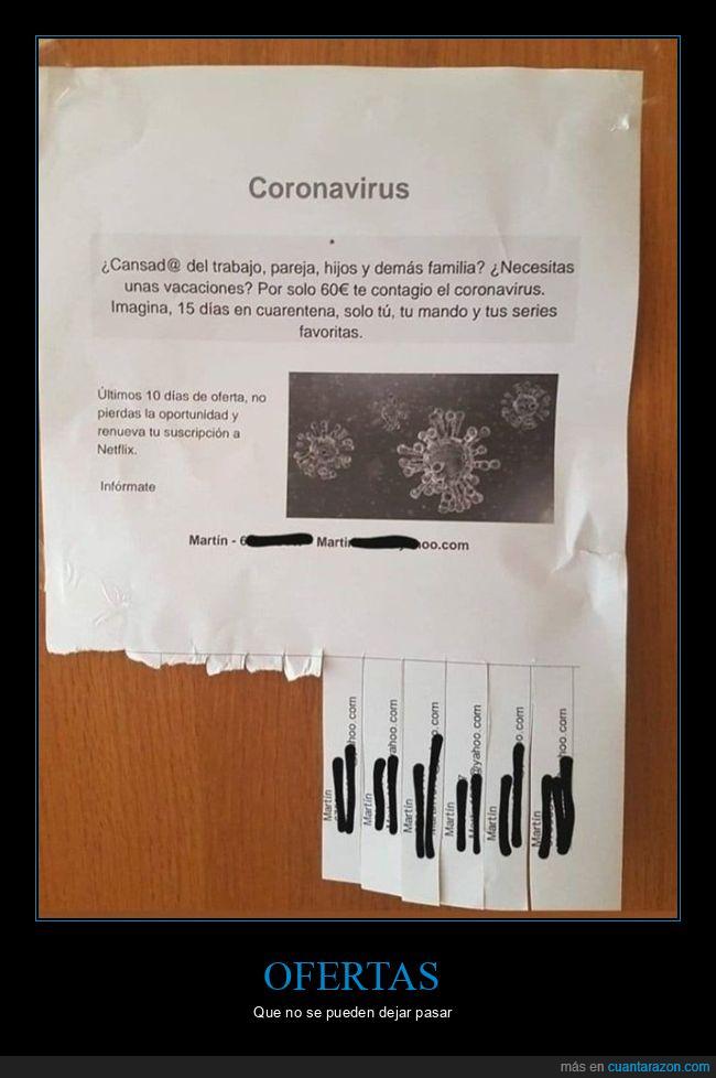 anuncio,contagiar,coronavirus,wtf