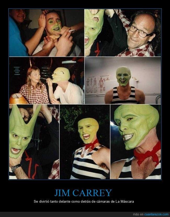 cine,detrás de las cámaras,jim carrey,la máscara