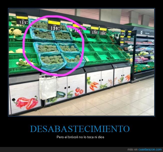 brócoli,coronavirus,mercadona