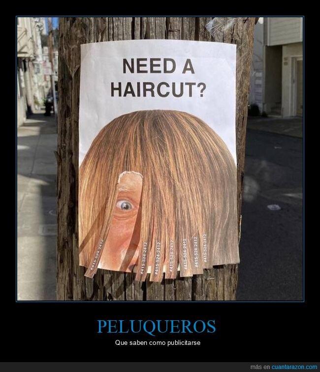 corte de pelo,peluquero