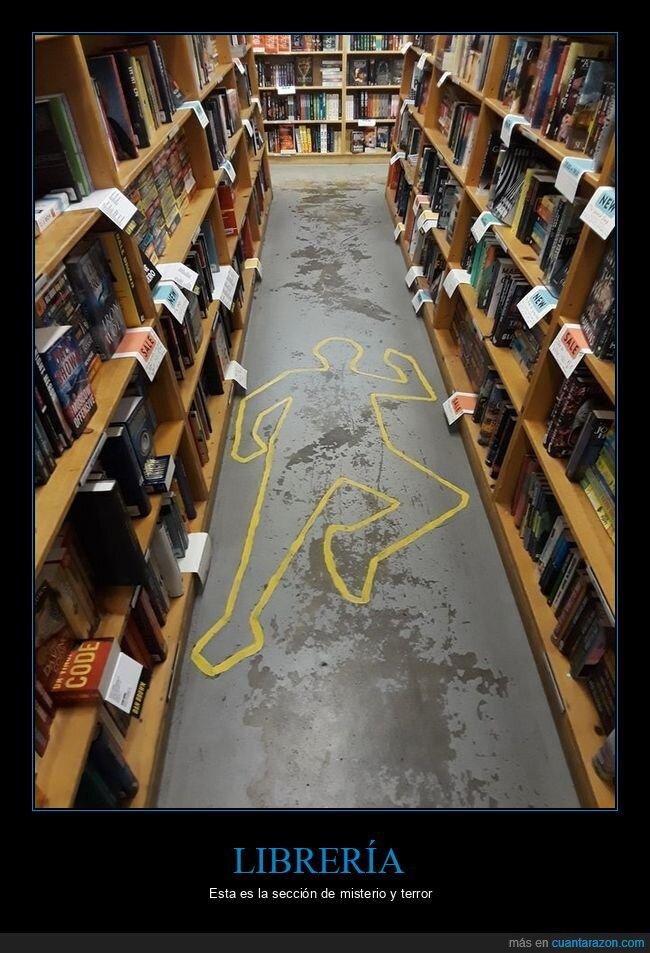 librería,misterio,terror
