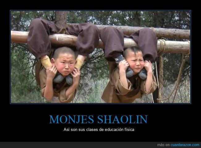 educación física,monjes shaolin,niños,wtf