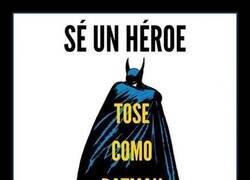 Enlace a Batman nos enseña a protegernos del coronavirus