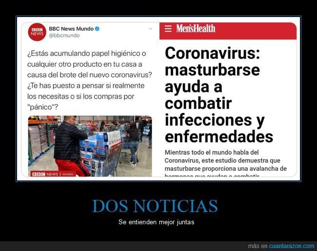 coronavirus,dos noticias,noticias,papel higiénico