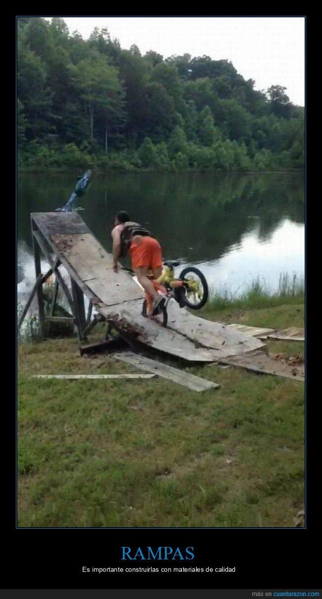 bicicleta,fails,rampa