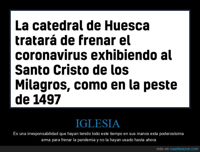 coronavirus,cristo,huesca,wtf