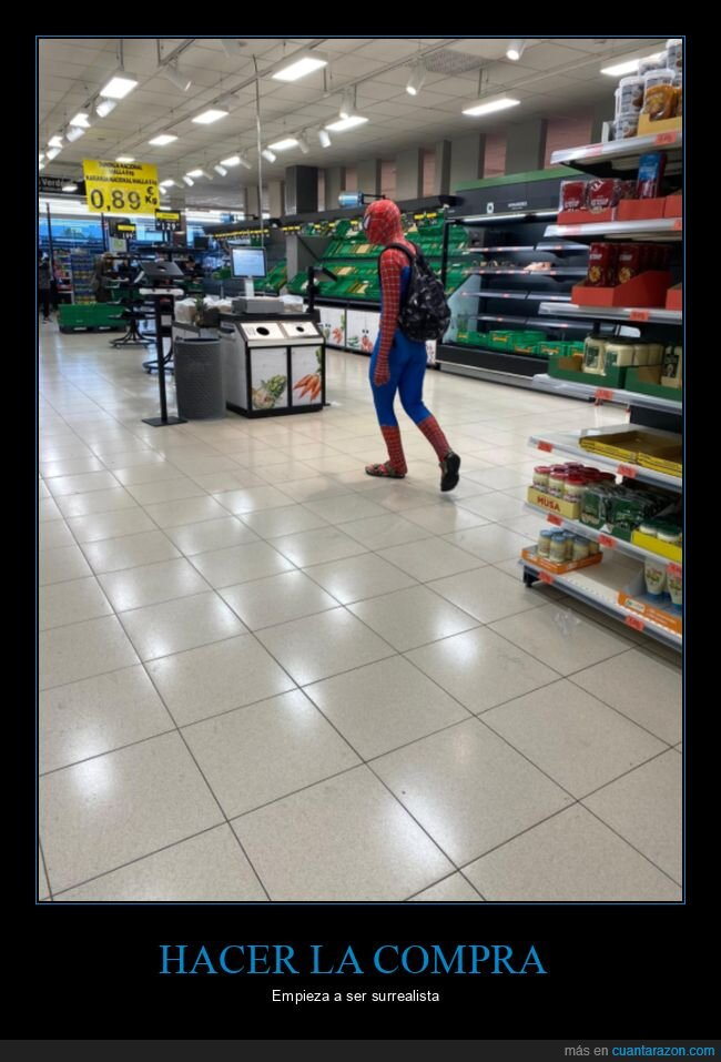 coronavirus,spiderman,supermercado,wtf