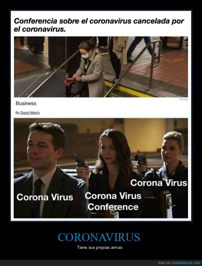 cancelada,conferencia,coronavirus,wtf