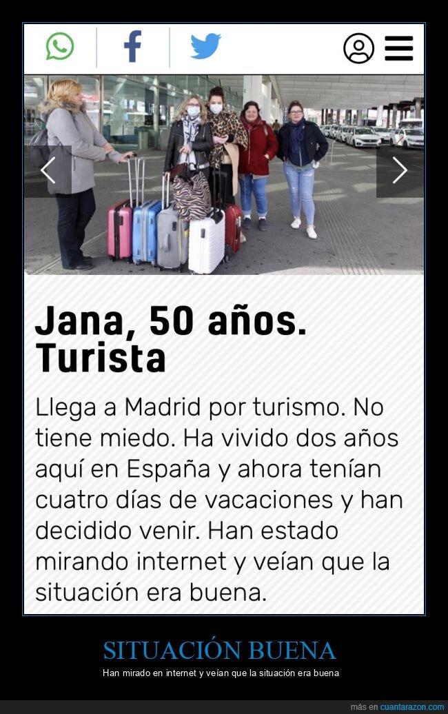 coronavirus,madrid,turista