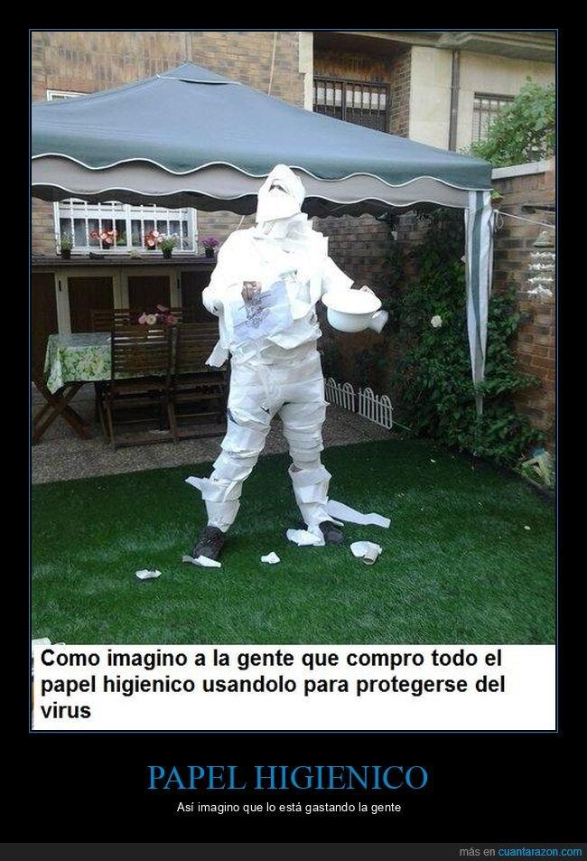 coronavirus,papel higiénico