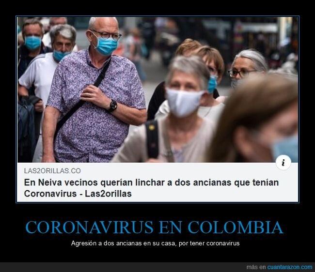 colombia,coronavirus,linchar