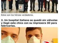 Enlace a Héroes del Coronavirus que ayudan a otros en medio de la crisis