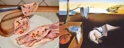 Enlace a Recreando pinturas famosas con sándwiches