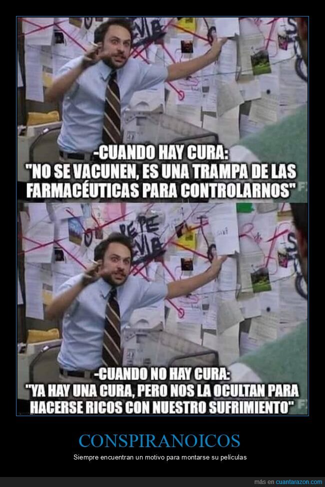 conspiranoicos,coronavirus,cura