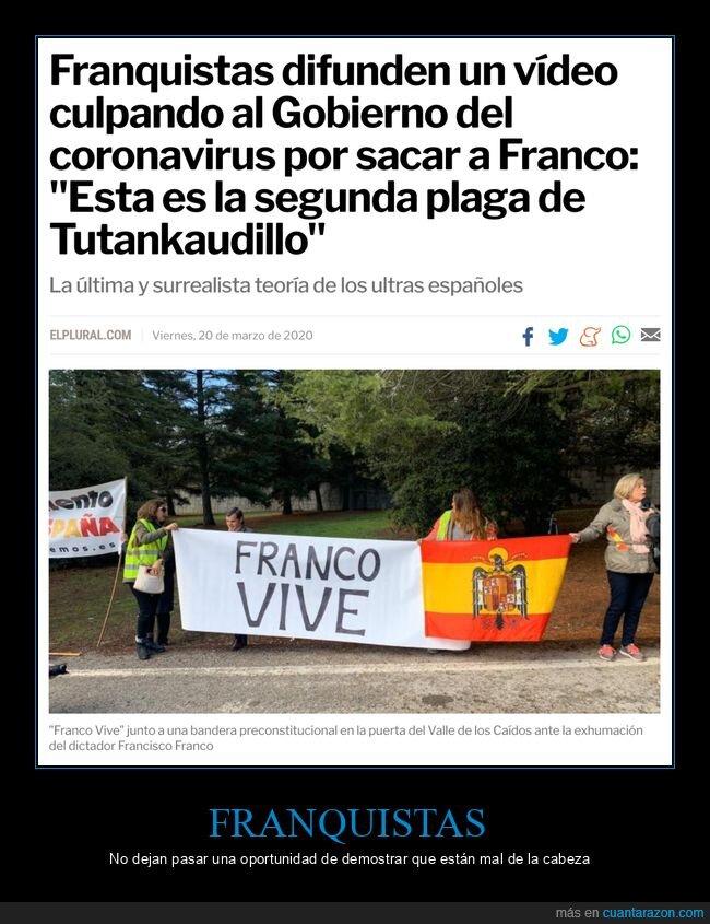 culpando,franco,franquistas,gobierno,plaga,tutankaudillo,valle de los caídos