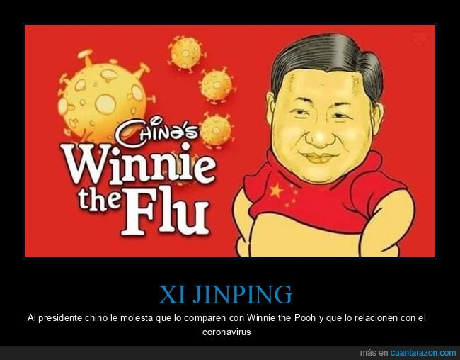 china,coronavirus,winnie the flu,winnie the pooh,xi jinping