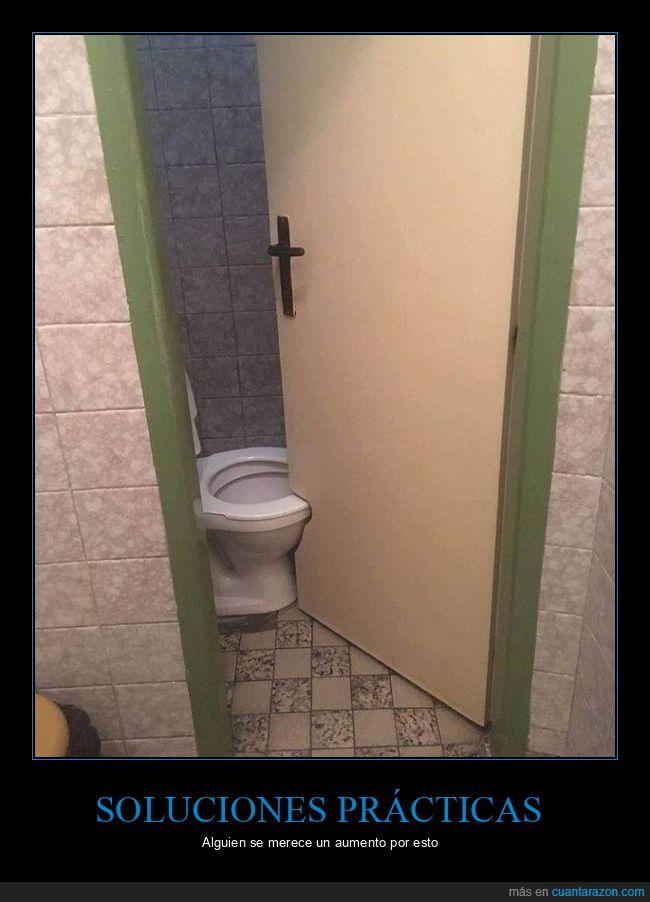 apaño,aseo,fail,puerta,váter