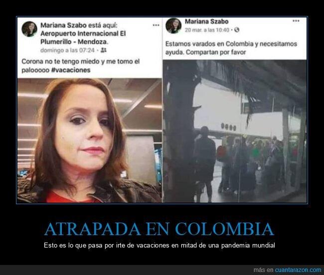 colombia,coronavirus,facebook,fail,vacaciones