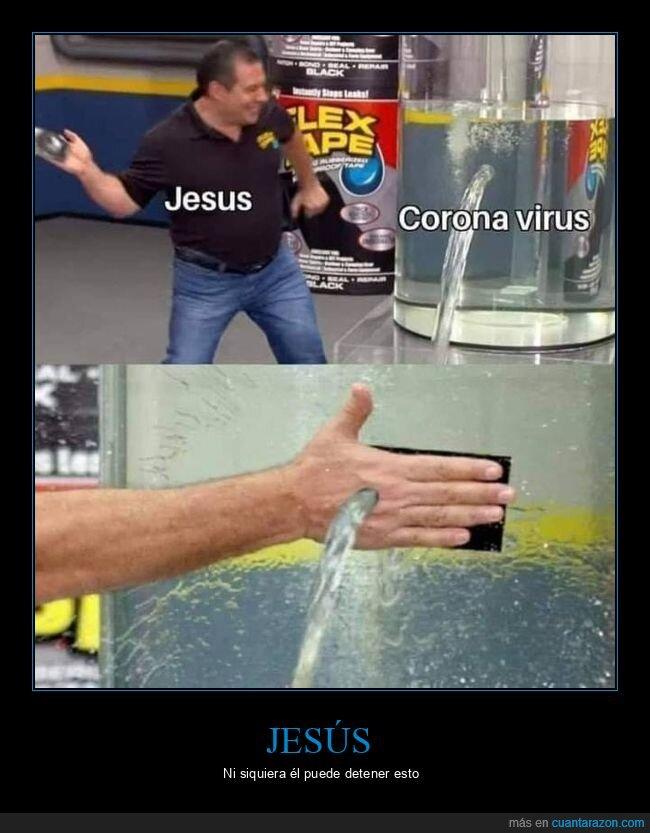 agua,agujero,coronavirus,jesús,mano