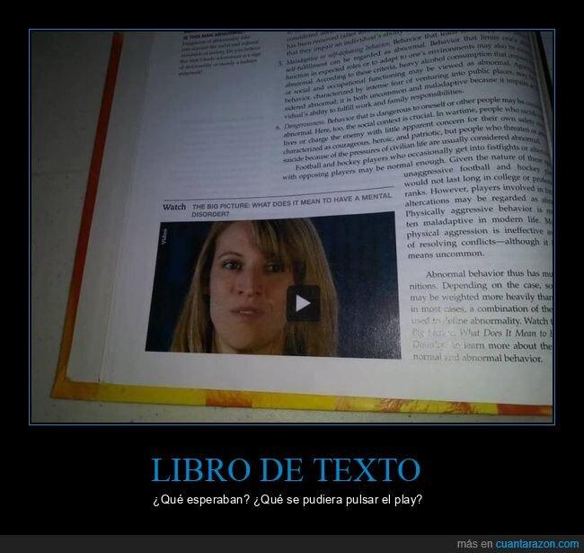 fails,libro de texto,vídeo