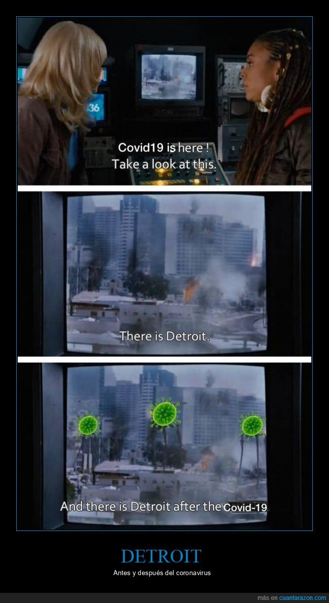 coronavirus,detroit,scary movie