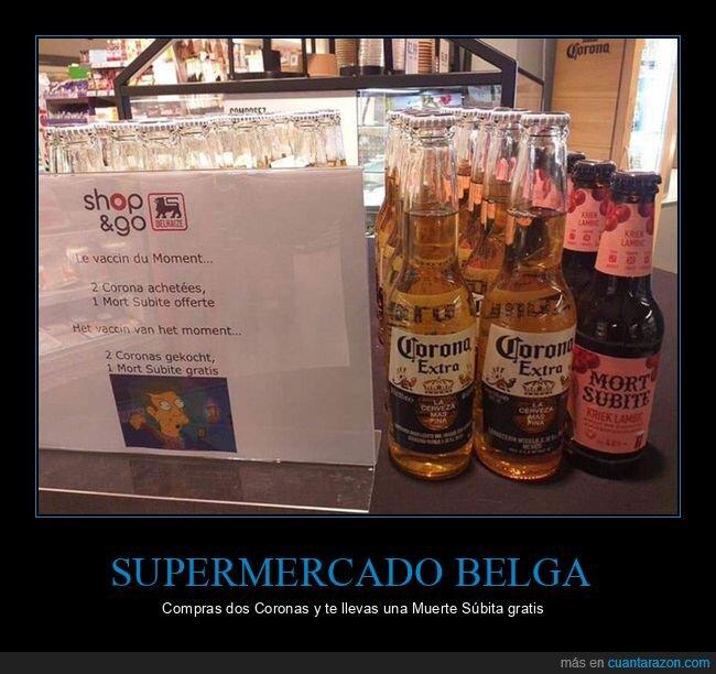 cerveza,corona,coronavirus,mort subite,oferta