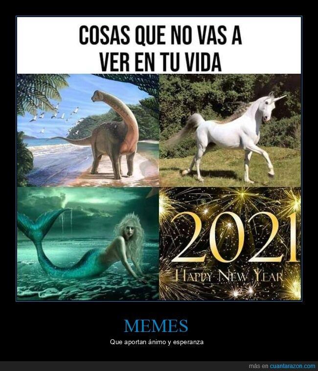 2021,coronavirus,dinosaurio,no ver,sirena,unicornio