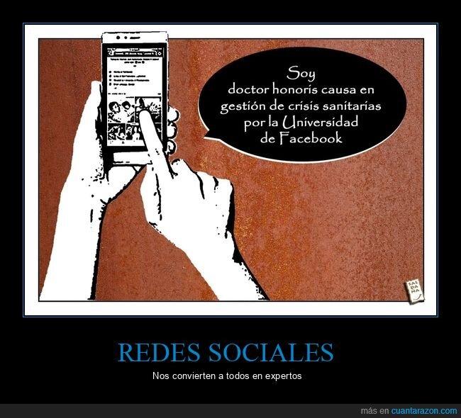 crisis sanitarias,facebook,gestión