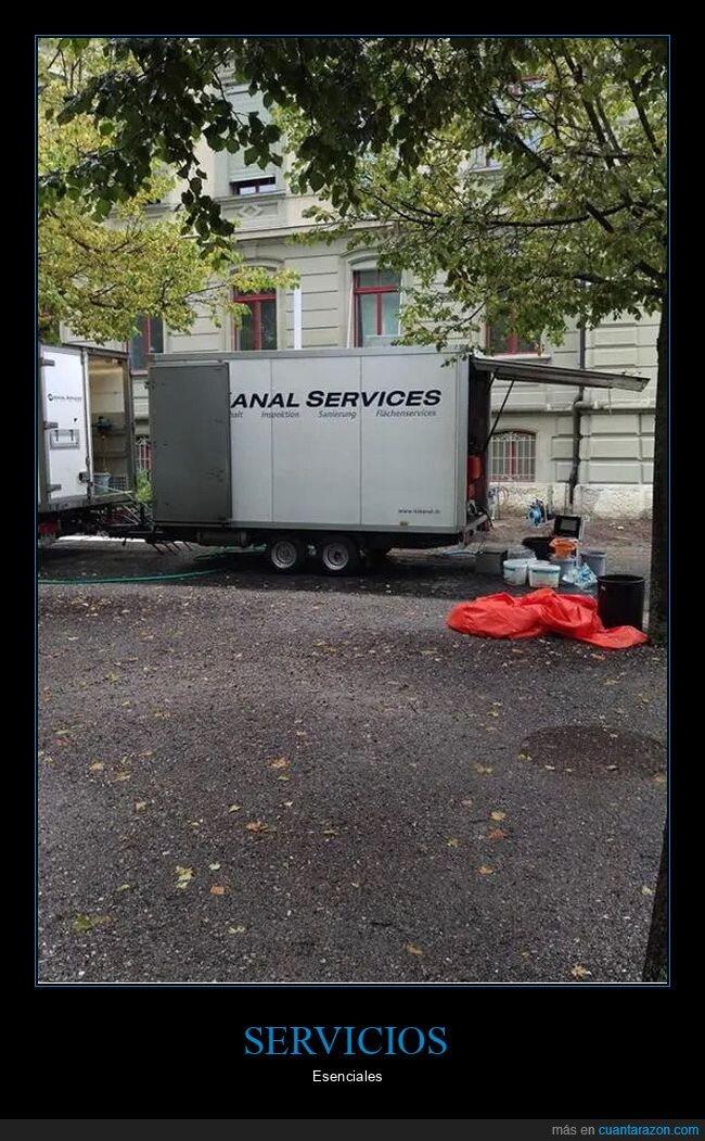 esenciales,servicios