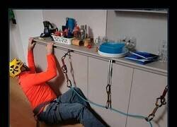Enlace a Practicando su hobby en casa