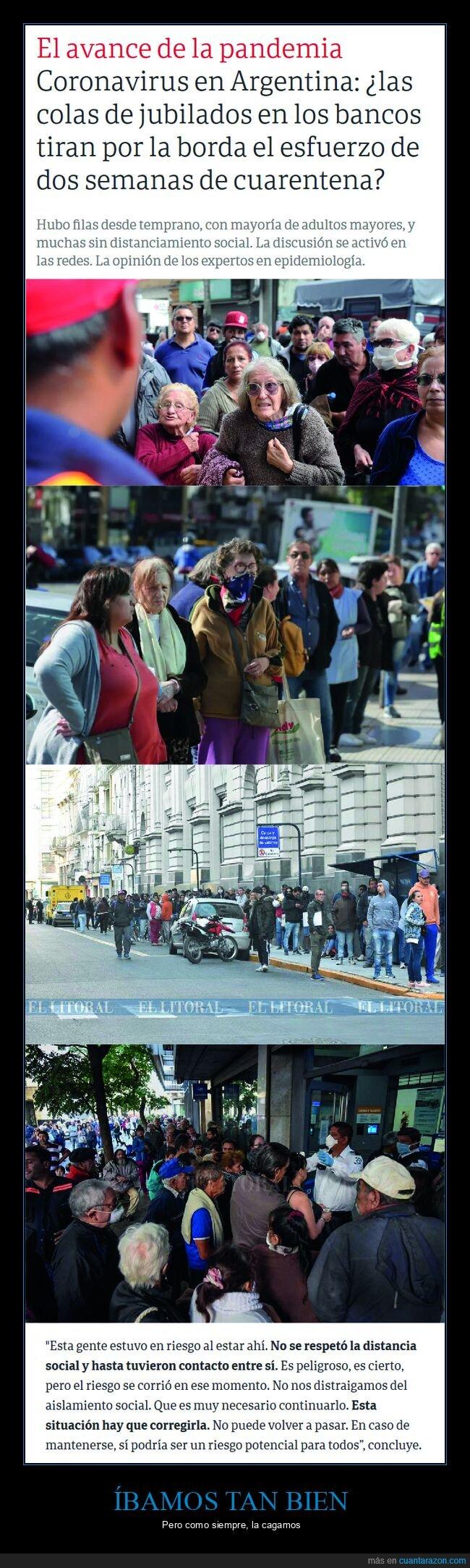 argentina,bancos,coronavirus,cuarentena