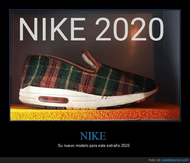 2020,coronavirus,cuarentena,nike,zapatillas