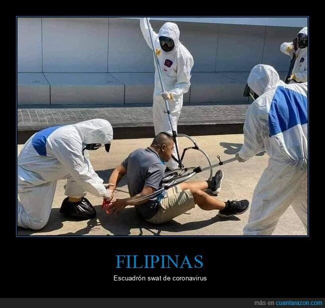 coronavirus,filipinas,swat