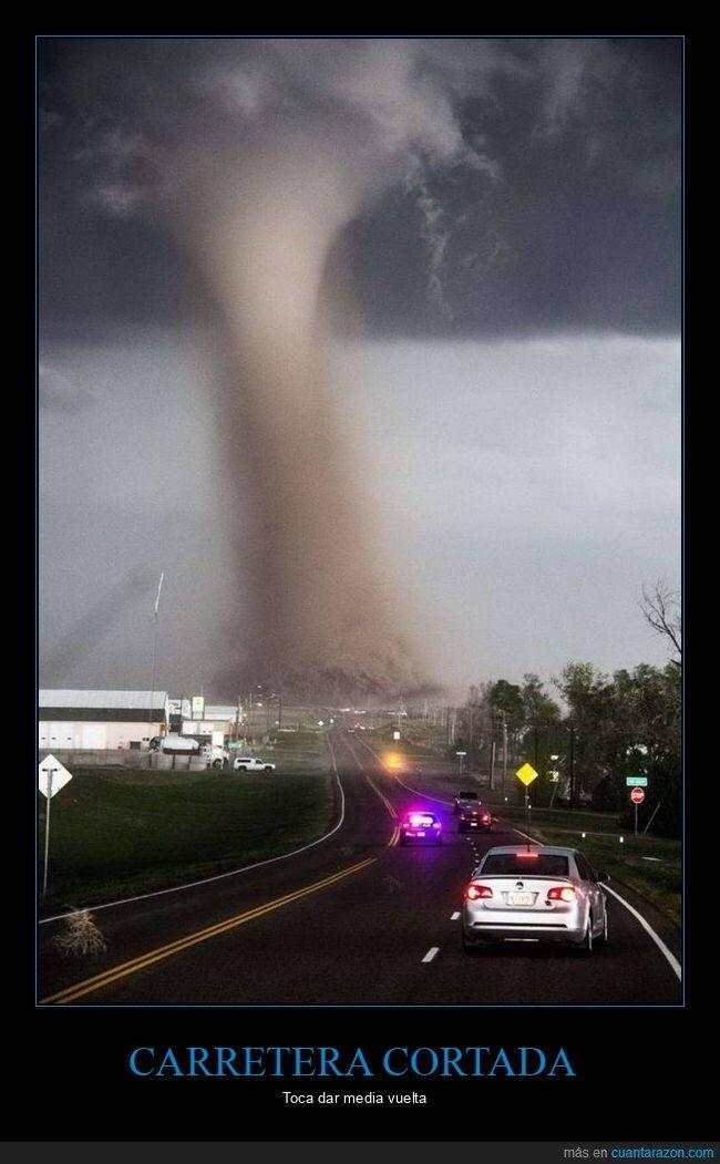 carretera,tornado,wtf