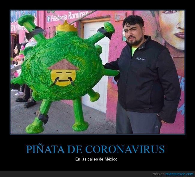 coronavirus,méxico,piñata