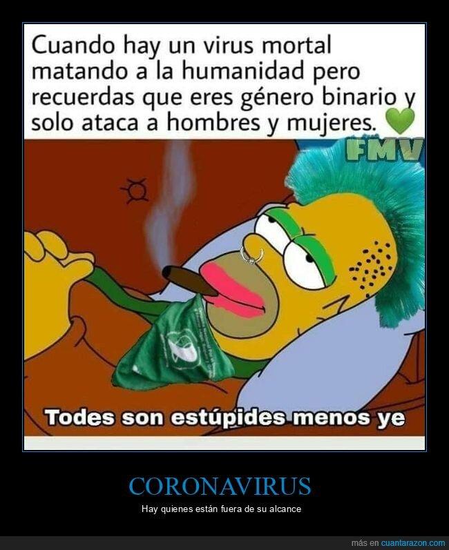 coronavirus,género binario,hombres,mujeres