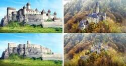 Enlace a Así se veían estos 7 castillos europeos antes y después; cuando estaban en su esplendor