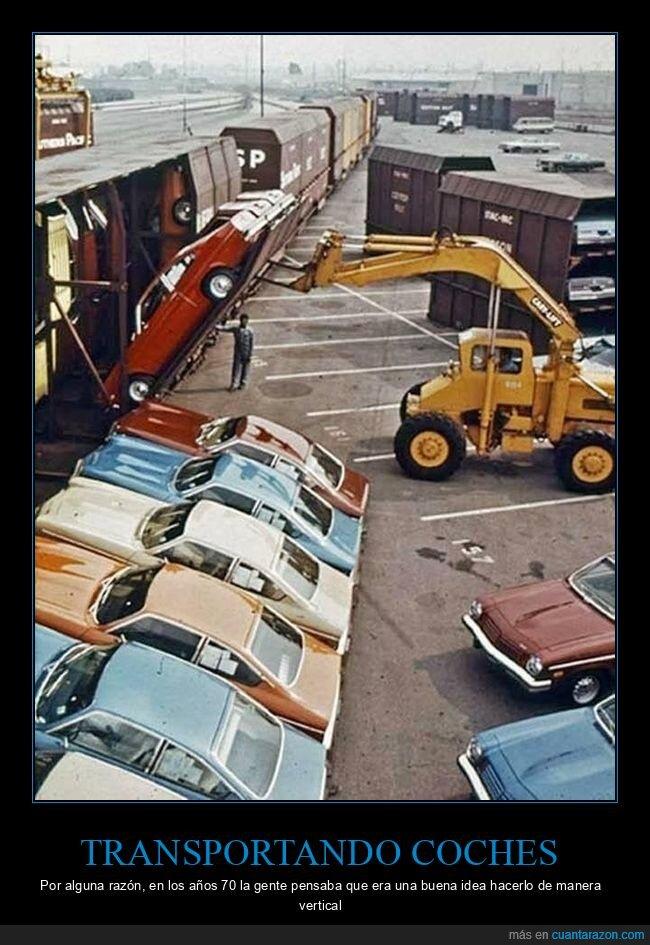 coches,transportando,tren,vertical
