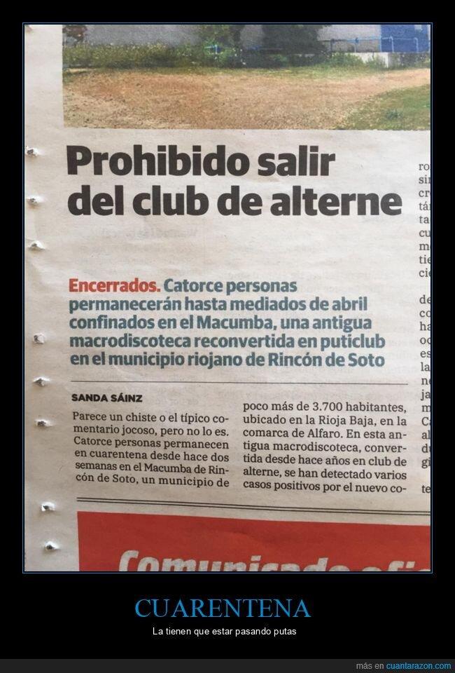 club de alterne,coronavirus,cuarentena,prohibido,salir