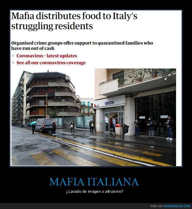 comida,coronavirus,cuarentena,italia,mafia