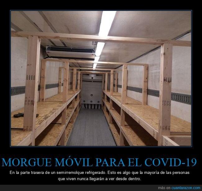 coronavirus,morgue,remolque