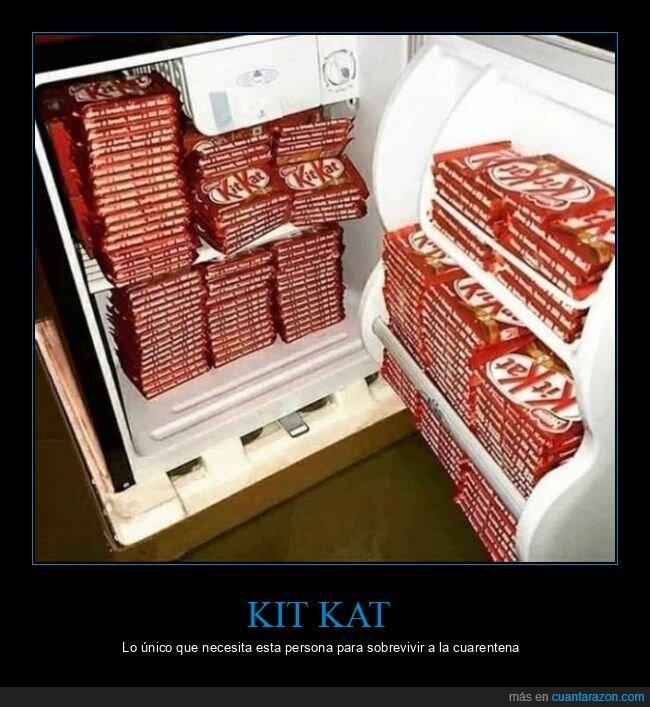 kit kat,nevera,wtf