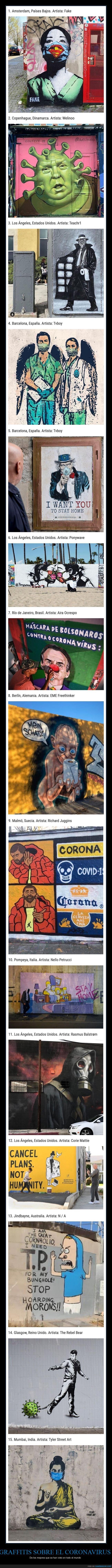 arte urbano,coronavirus,graffiti