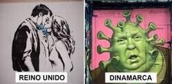 Enlace a De los mejores graffitis sobre el coronavirus que se han visto en todo el mundo