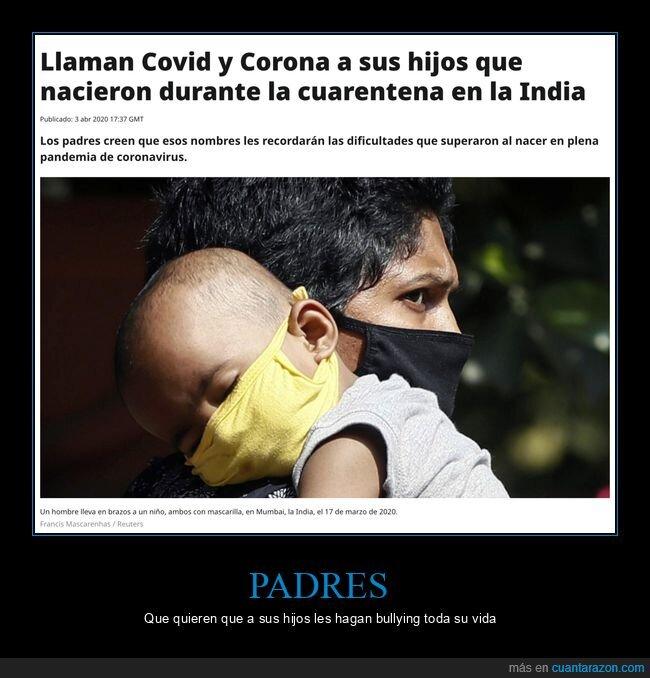 corona,coronavirus,covid,gemelos,hijos,nombre,nombres