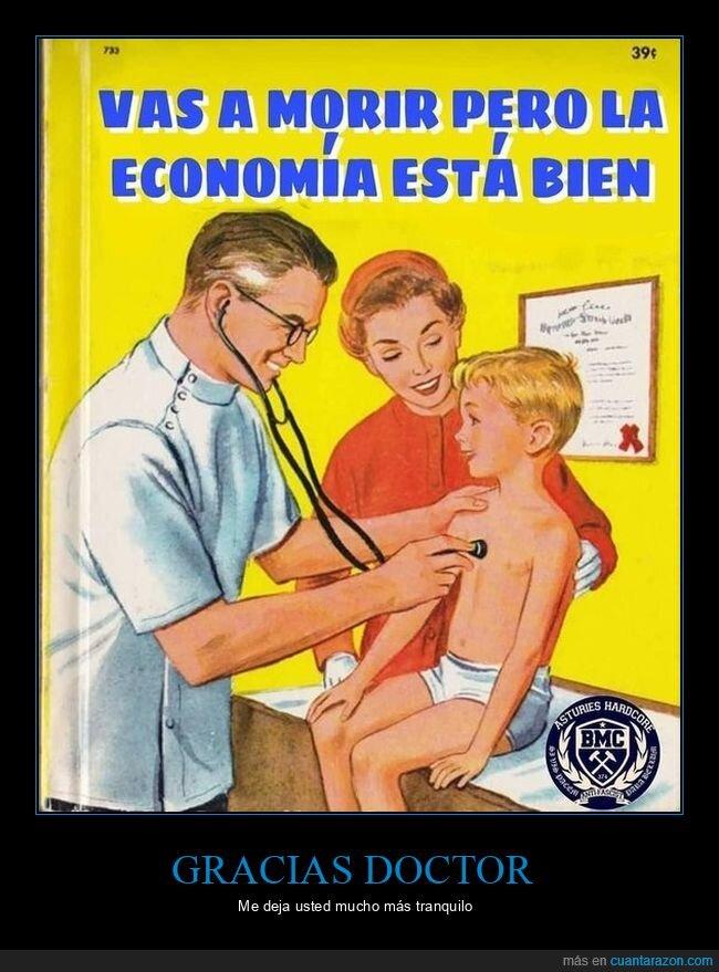 bien,coronavirus,economía,médico,morir,niño
